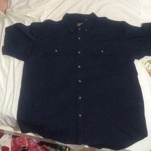 XL Navy Blue Schmidt Workwear Button Shirt